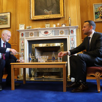 Varadkar and Corbyn share 'serious concerns' about Brexit during Dublin meeting
