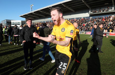 Boost for Irish defender after Wembley heartache