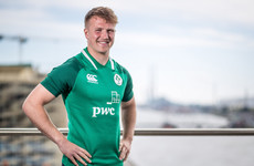 Moore ready to make a mark for Ireland U20 after concussion kept him out of Six Nations