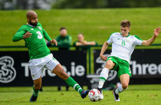 Barnet youngster scores twice as Ireland defeated by U21s in training match