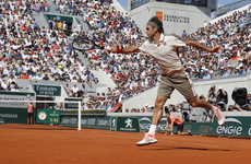 Federer wins record 400th Grand Slam match as second seed Pliskova crashes out of French Open