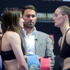 We have a fight: Katie Taylor weighs in to rapturous reception at Madison Square Garden