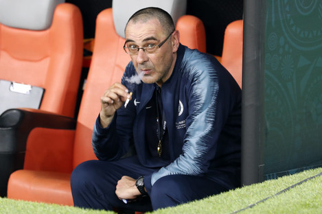 Maurizio Sarri has been widely linked with a move to Juventus.