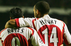 Henry and Ljungberg lead tributes for Reyes after tragic death of former Arsenal star