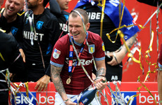 Ireland midfielder Glenn Whelan released by Aston Villa following Premier League promotion