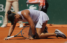 'There was a weight on me' - Top seed on stress-induced headaches after French Open exit