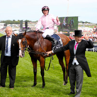 Joy for O'Brien, as Anthony leads home a 1-2-3-4-5-6 for Ireland in Epsom Derby