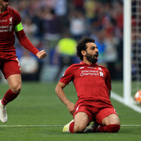 First blood to Liverpool as Salah scores early from the spot in Madrid