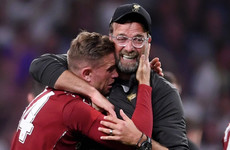 Klopp: 'I'm so happy for my family, they suffer every year when we go to a final'