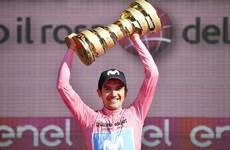 Ecuadorian Carapaz holds onto impressive lead to clinch Giro d'Italia success