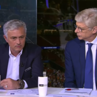 TV Wrap - Jose and Arsene come together to star on Champions League final night