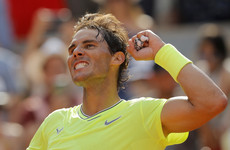 Nadal books quarter-final spot after 90th Roland Garros win as Federer awaits 2015 champion