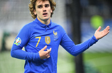 Griezmann scores as Mbappe picks up ankle knock in victory ahead of tough Euro qualifying trip