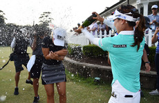 South Korean scoops $1 million prize with first major championship win at US Open