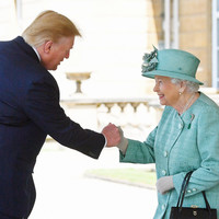 Donald Trump has met the Queen (and called Sadiq Khan a 'stone cold loser')