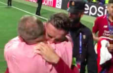 'I'm just glad I can put a smile on his face': Henderson opens up on father embrace