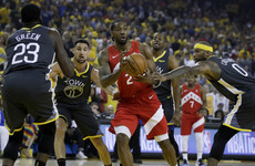 Kawhi Leonard posts 36 points as Toronto Raptors close in on first ever NBA title