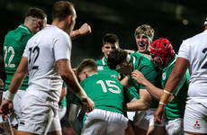 Academy trio set for Ireland U20 debuts in World Championship opener against England