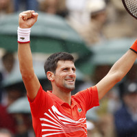 Djokovic storms into 10th successive French Open quarter-final as Halep also progresses