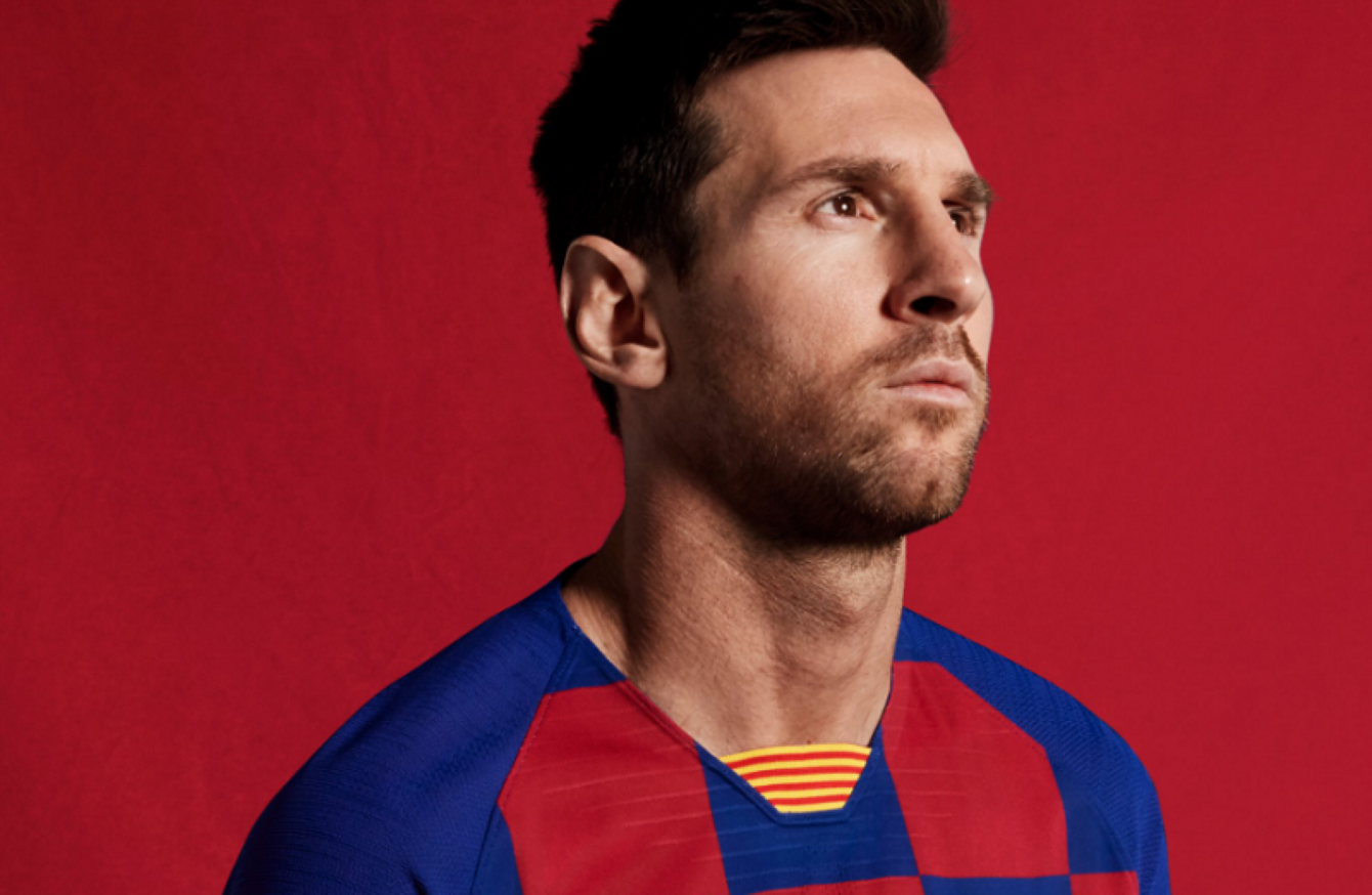 low cost 888dd 3a9a7 Barcelona drop traditional stripes look as new kits revealed ...
