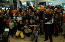 'It's great to be the best in the world' - Undisputed champion Taylor swarmed by fans in Dublin airport