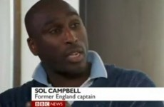 'Stay at home and watch it on TV' - Campbell warns of racist violence in Ukraine