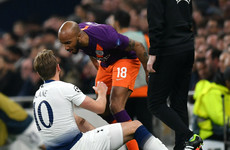 Fabian Delph reveals changing room meeting with Harry Kane