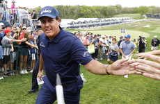 Five-time Major winner Mickelson set for first appearance in Ireland since 2006