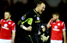 Ex-Chelsea 'keeper Beeney leaves Sligo halfway through the season