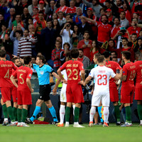 VARsical scenes as Portugal have penalty ruled out in favour of a Swiss penalty up the other end