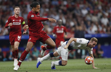 Van Dijk: Kane's fitness held him back in Champions League final