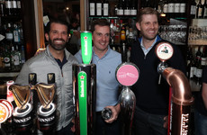 Trump's sons Eric and Donald Jr popped into a Doonbeg pub and pulled some pints this evening