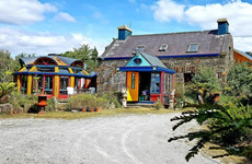 Stand out from the crowd in this colourful Kenmare home by the sea for €620k
