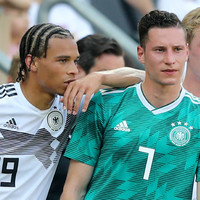 Settled Sané will not force Bayern move, says Draxler