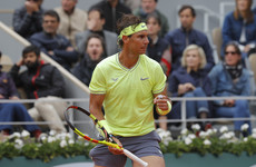 Nadal powers past Federer into 12th French Open final
