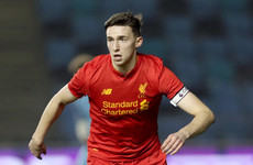 Masterson one of three Irish academy players released by Liverpool