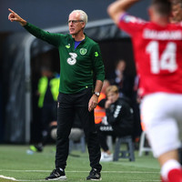 McCarthy pays tribute to 'fabulous' Duffy as Ireland snatch a point in Copenhagen