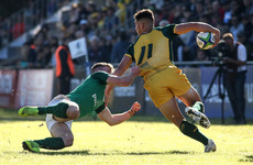 Fierce 14-man effort unravels for Ireland U20 against Australia