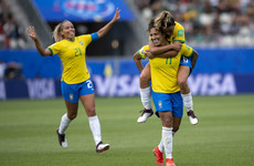 Cristiane hits hat-trick as Brazil ease past Jamaica in World Cup opener