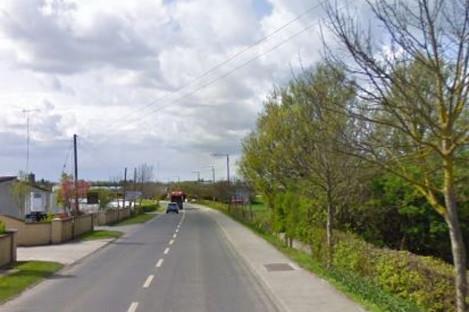 Whitestown Road in Rush