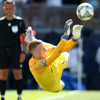 Pickford scores and saves a penalty to earn England third place in Nations League