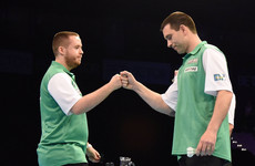 Irish duo's unlikely World Cup of Darts bid ends with final heartbreak