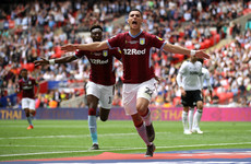 Newly-promoted Villa sign Dutch winger permanently after Wembley heroics