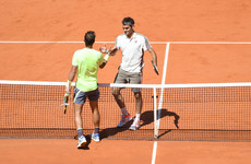 Nadal not worried about catching 'neighbour with bigger TV' Federer in Grand Slam stakes