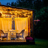 'Lights add instant cosiness': 5 simple steps to turn your garden into another room for summer