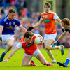Armagh confirm star midfielder Burns released from hospital following Ulster defeat