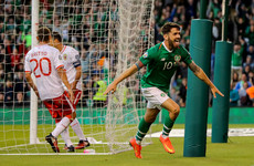 Brady's late header adds gloss to uninspiring Ireland win over Gibraltar