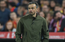 Spain assistant boss hopes he's filled in for Luis Enrique for the last time