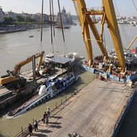 Bodies recovered as Budapest tour boat is lifted from Danube