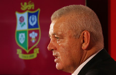 Gatland set to be named Lions head coach for the third time tomorrow